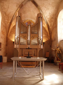 Die Seifert-Orgel in Diekirch